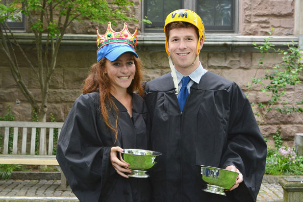 Outstanding undergraduates are honored during Class Day ...