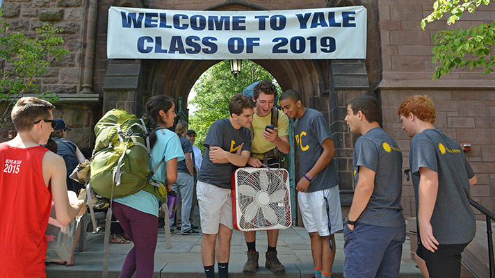 Yale S Newest Freshmen Have Diverse Backgrounds And
