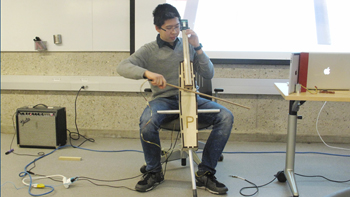 At the intersection of engineering and music, Yale students