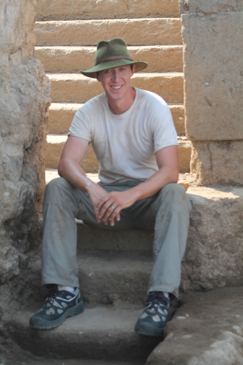 Andrew Johnston, assistant professor of classics at Yale and director of the Gabii Project's field school
