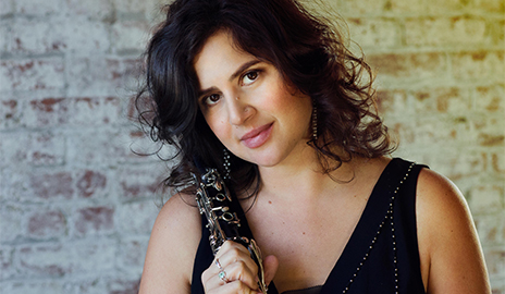 Clarinetist-saxophonist Anat Cohen will perform on Friday, March 10. (Photo courtesy of the artist)