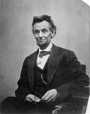 This photograph of Lincoln by Alexander Gardner was taken on Feb. 5, 1865. The president's haggard, careworn appearance shows the toll wrought by four years of war. (Beinecke Rare Book and Manuscript Library, Meserve-Kunhardt Collection)