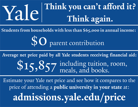 Yale College Tuition Room And Board