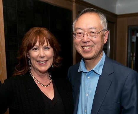 Mary Jo Shen and Theodore P. Shen '66. (Photo courtesy of Theodore Shen)