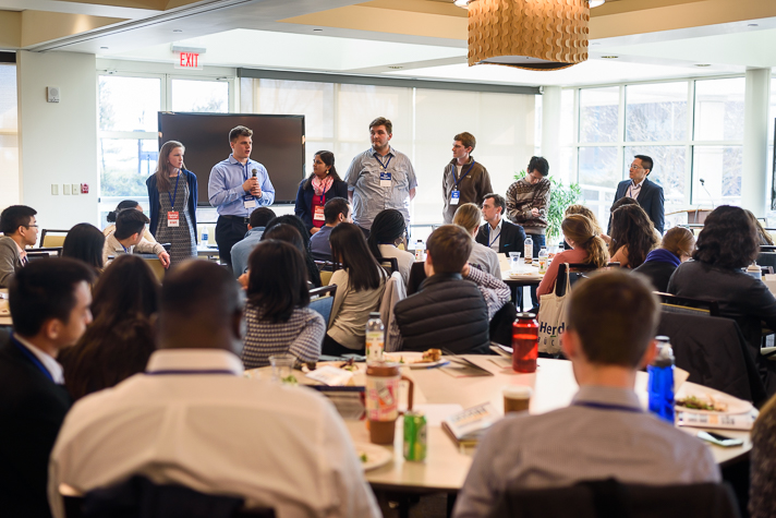 The conference also included a panel featuring student leaders throughout campus. (Photo by Román Castellanos-Monfil)