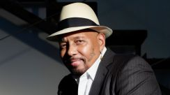 Grammy Award-winning soul and rhythm-and-blues vocalist Aaron Neville