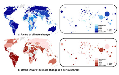Climate change graphic