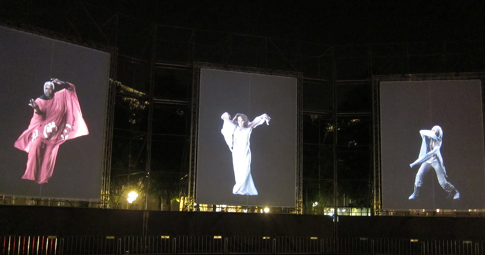 "David Michalek's film installation ""Slow Dancing"" will come to Cross Campus. (Photo by David Michalek)"