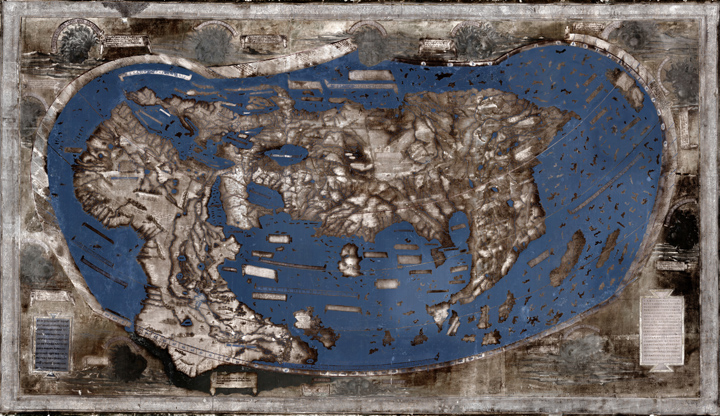 Hidden secrets of Yale\'s 1491 world map revealed via multispectral ...