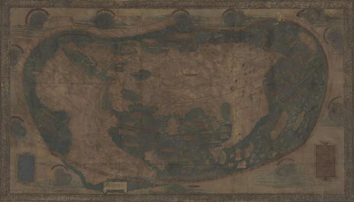 Hidden secrets of Yale\'s 1491 world map revealed via multispectral ...