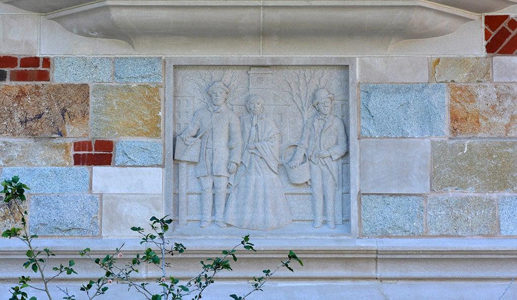 Art Calendar Yale : Yale s newest college carvings yalenews
