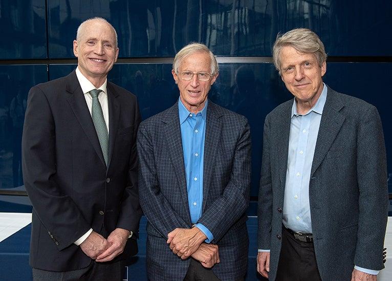 Ted Snyder, William Nordhaus, Robert Shiller