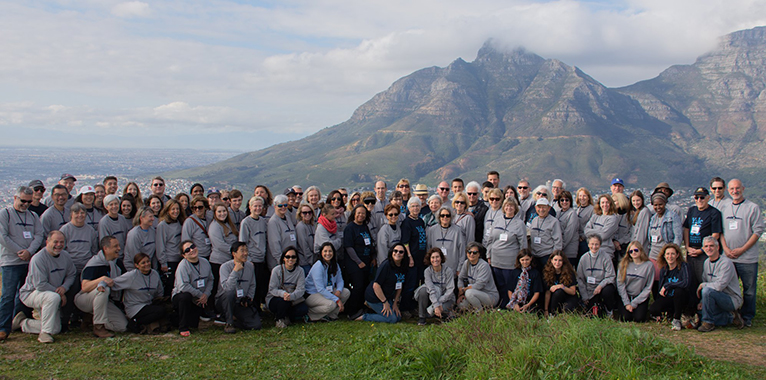 Yale Alumni Service Corps members in South Africa.