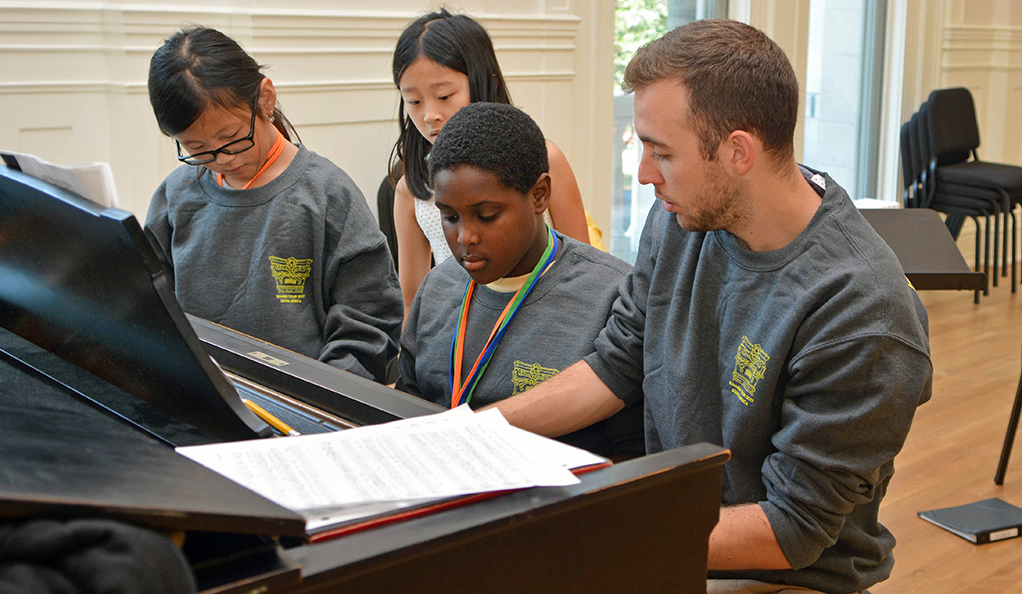 Practice, practice, practice — then perform: Morse Summer Music ...