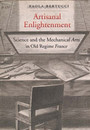"""Photo of the cover of the book titled """"Artisanal Enlightenment."""""""