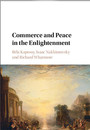 """Photo of cover of the book titled """"Commerce and Peace in the Enlightenment"""""""