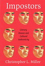 """Cover of the book titled """"Impostors: Literary Hoaxes and Cultural Authenticity."""""""