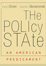 """Photo of the cover of the book titled """"The Policy State."""""""