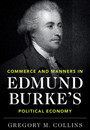 """Cover of """"Commerce and Manners in Edmund Burke's Political Economy"""""""