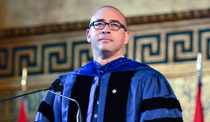 Jonathan Holloway delivers Yale College's Freshman Address in 2016