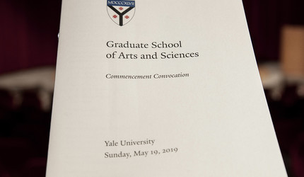 GSAS Convocation program
