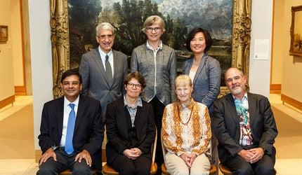 Wilbur Cross Medal winners Urgit Ravindra Patel, Susan Kidwell, Ruth Garret Millikan, and Douglas Green