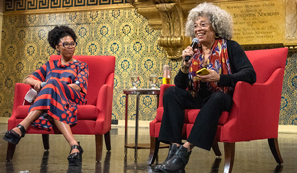 Crystal Feimster and Angela Davis