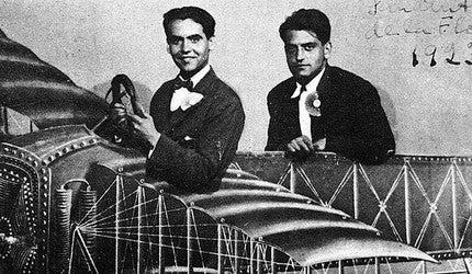 Federico García Lorca and Luis Buñuel