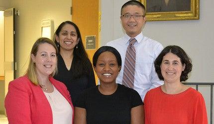 Dr. Christine Ngaruiya of Yale, with colleagues.