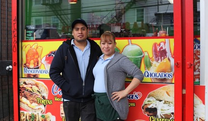 Miguel Xicotencatl and Cecilia Serrano, co-owners of Cositas Deliciosas in Fair Haven.