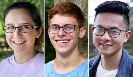 Kendra Libby, Alex Cohen, and Jason Yang