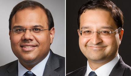 Nihar Desai and Tariq Ahmad