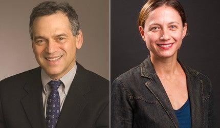 Dr. Harlan Krumholz and Dr. Erica Spatz headshots.