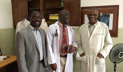 Dr. Onyema Ogbuagu, Dr. Onyema Ogbuagu, and Dr. Joseph Njoh.