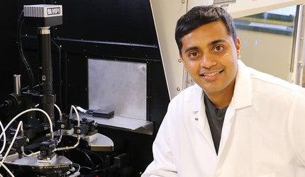 Photo of professor Nikhil Malvankar.
