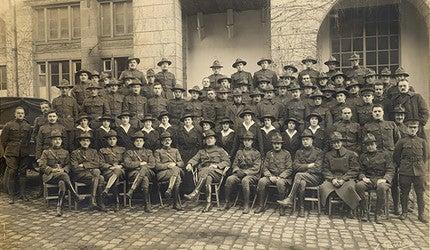 titleThe men and women of Yale Mobile Hospital Unit 39