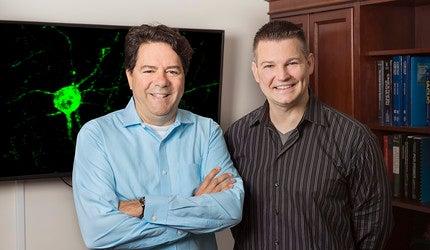 Photo of Vincent Pieribone and Jason Crawford
