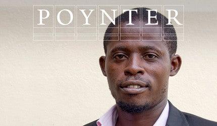 Arthur Pratt with Poynter logo