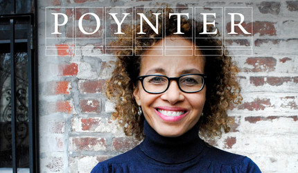 Linda Villarosa with Poynter logo