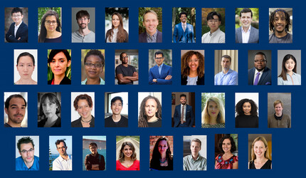 Composite photo of new FAS faculty for 2021–2022