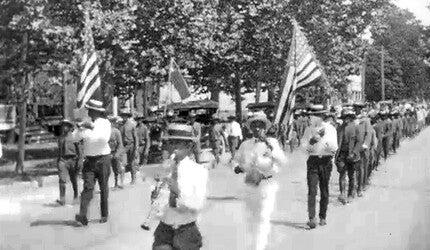 A still image of a 1920s Juneteenth celebration