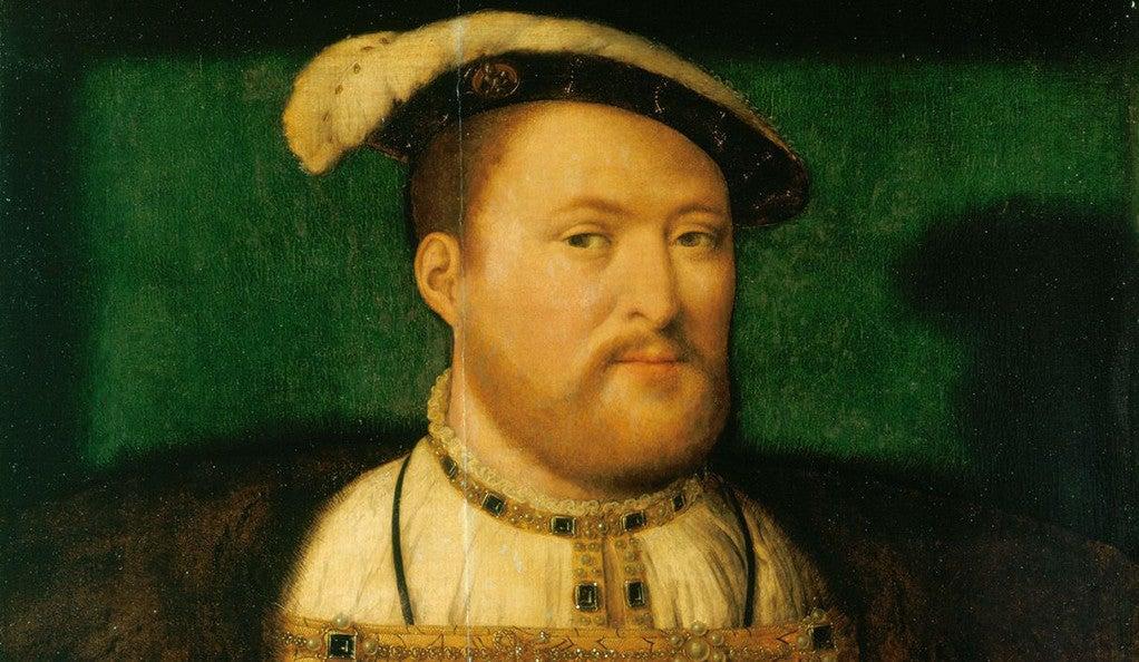 Painting of VIII by Joos van Cleve