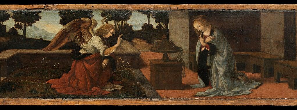 The Annunciation by Leonardo da Vinci