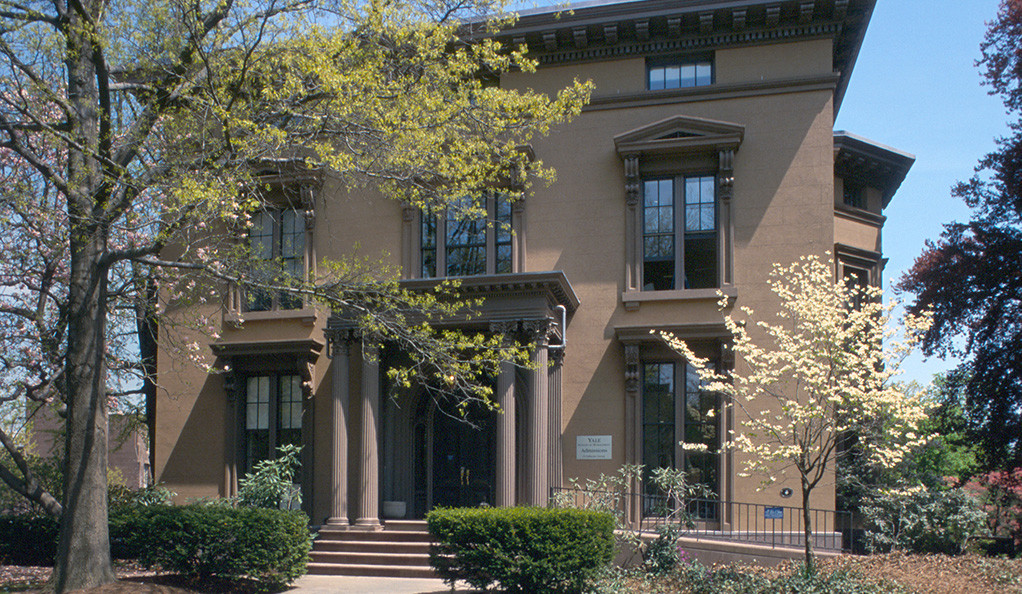 55 Hillhouse Ave., home of the Jackson Institute for Global Affairs at Yale.