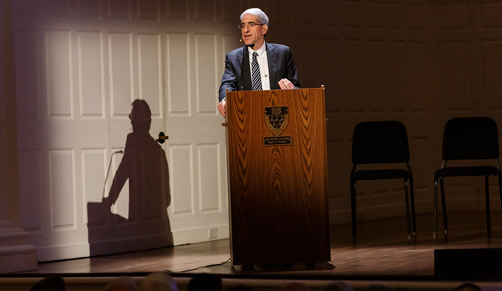 President Peter Salovey at the 2018 Association of Yale Alumni Assembly & Yale Alumni Fund Convocation