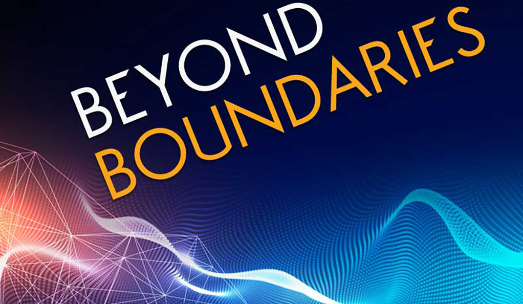 Beyond Boundaries symposium poster art.
