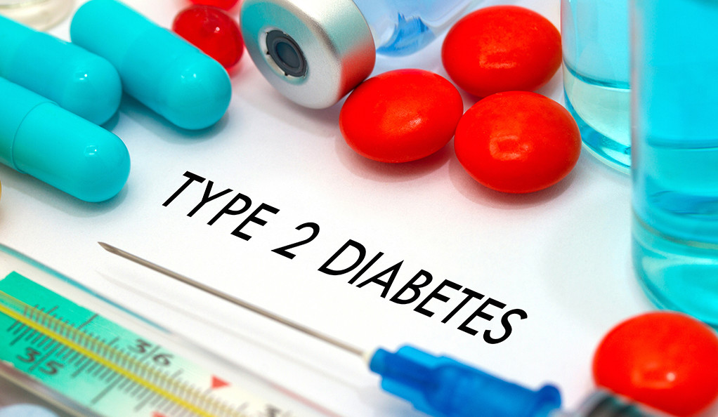 Various medications used for treating type 2 diabetes.