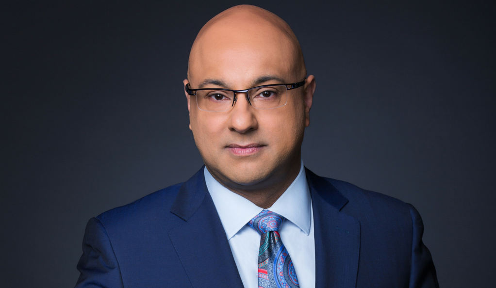 A portrait photo of MSNBC anchor Ali Velshi.