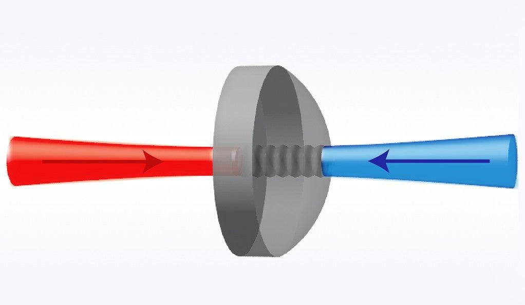 The bulk crystalline optomechanical system.