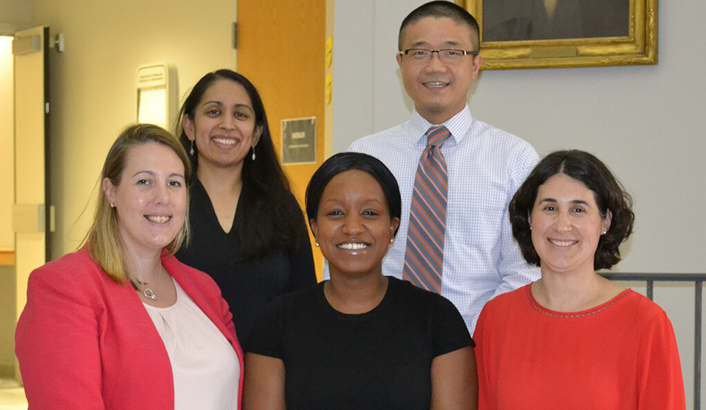 Dr. Christine Ngaruiya of Yale, with colleagues.